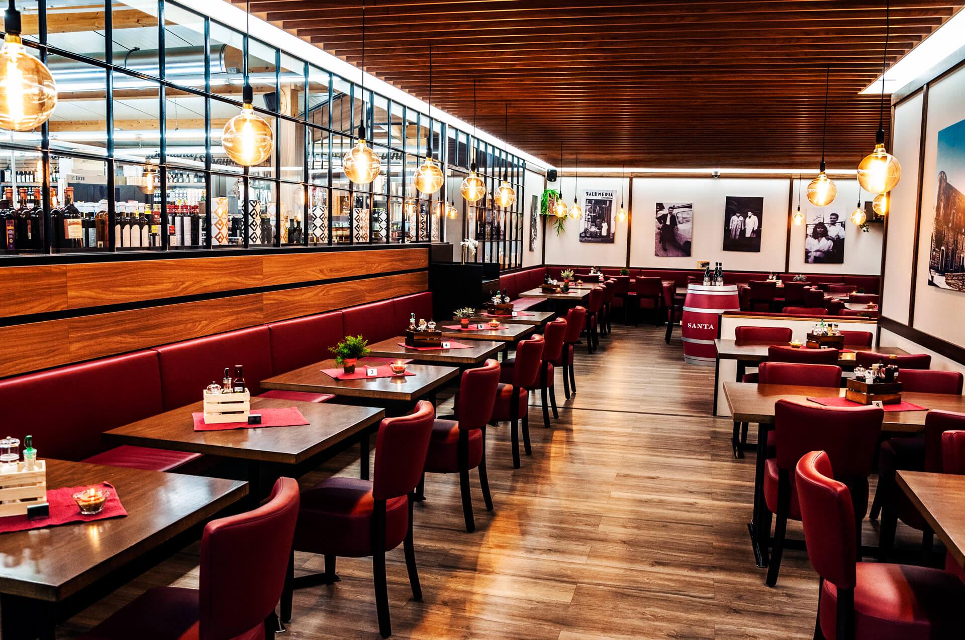 Da Tenace - Restaurant Tische innen 1-9